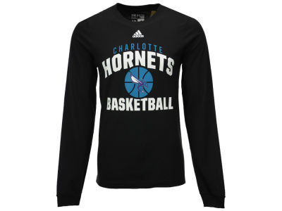 Charlotte Hornets adidas NBA Men's Rep Big Long Sleeve T-Shirt