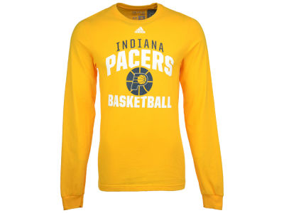 Indiana Pacers adidas NBA Men's Rep Big Long Sleeve T-Shirt