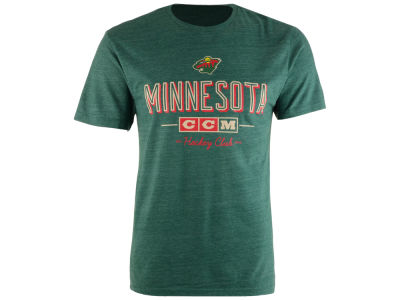 Minnesota Wild CCM NHL Men's CCM Attacking Zone T-Shirt