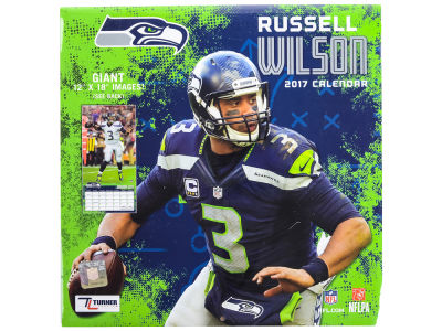 Seattle Seahawks 2017 12x12 Player Wall Calendar
