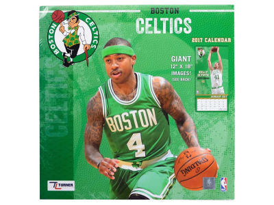 Boston Celtics 2017 Team Wall Calendar 12x12