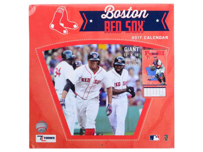 Boston Red Sox 2017 Team Wall Calendar 12x12