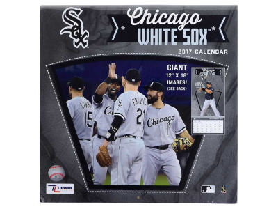 Chicago White Sox 2017 Team Wall Calendar 12x12