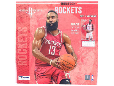 Houston Rockets 2017 Team Wall Calendar 12x12