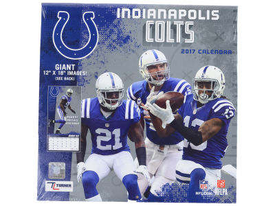 Indianapolis Colts 2017 Team Wall Calendar 12x12