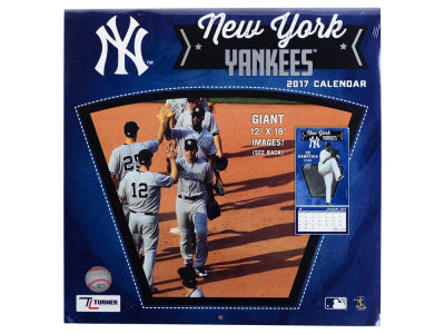 New York Yankees 2017 Team Wall Calendar 12x12