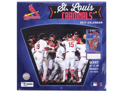 St. Louis Cardinals 2017 Team Wall Calendar 12x12