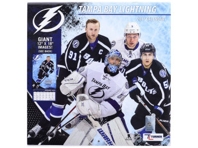Tampa Bay Lightning 2017 Team Wall Calendar 12x12