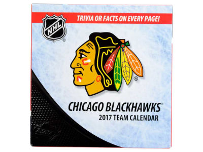 Chicago Blackhawks 2017 Box Calendar