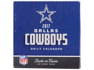 Dallas Cowboys 2017 Box Calendar