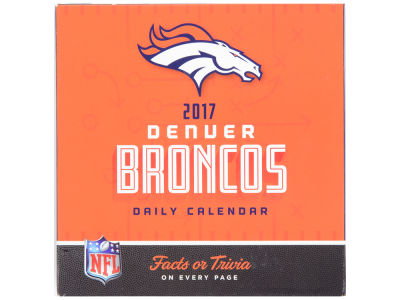 Denver Broncos 2017 Box Calendar