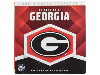 Georgia Bulldogs 2017 Box Calendar