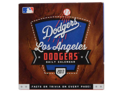Los Angeles Dodgers 2017 Box Calendar