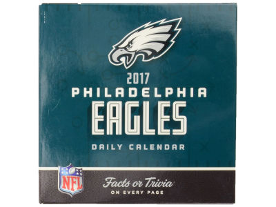 Philadelphia Eagles 2017 Box Calendar