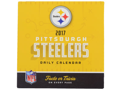 Pittsburgh Steelers 2017 Box Calendar