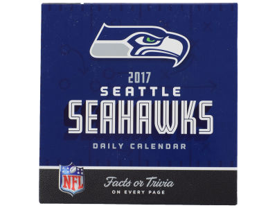 Seattle Seahawks 2017 Box Calendar