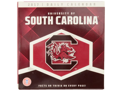 South Carolina Gamecocks 2017 Box Calendar