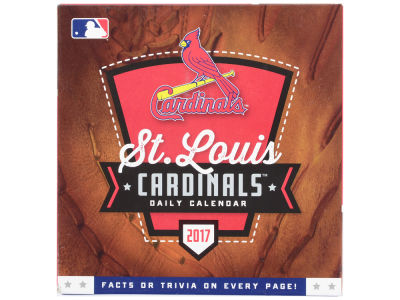 St. Louis Cardinals 2017 Box Calendar