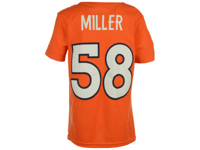 Denver Broncos Von Miller NFL Youth Pride Name and Number T-Shirt