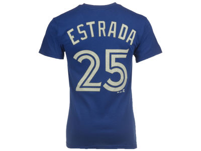 Toronto Blue Jays Marco Estrada Majestic MLB Men's Official Player T-Shirt
