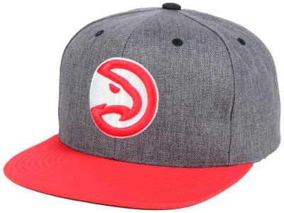 Atlanta Hawks Mitchell and Ness NBA Cation 2Tone Snapback Cap
