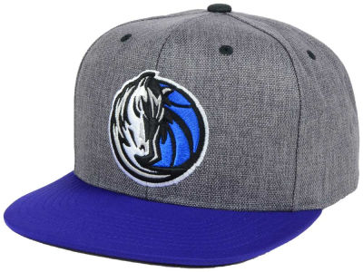 Dallas Mavericks Mitchell & Ness NBA Cation 2Tone Snapback Cap