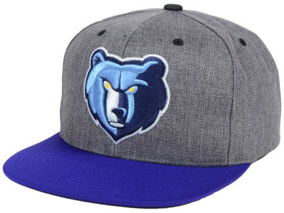Memphis Grizzlies Mitchell and Ness NBA Cation 2Tone Snapback Cap