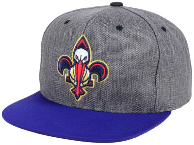 New Orleans Pelicans Mitchell and Ness NBA Cation 2Tone Snapback Cap