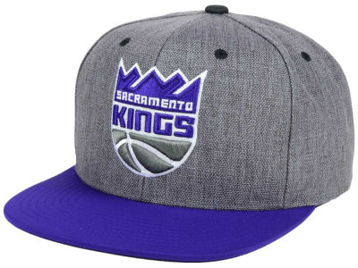 Sacramento Kings Mitchell & Ness NBA Cation 2Tone Snapback Cap