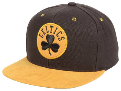 Boston Celtics Mitchell and Ness Mitchell and Ness Tim Hook Snapback Cap