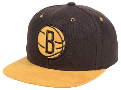 Brooklyn Nets Mitchell and Ness Mitchell and Ness Tim Hook Snapback Cap