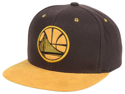 Golden State Warriors Mitchell and Ness Mitchell and Ness Tim Hook Snapback Cap