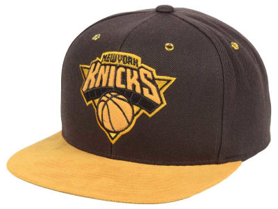 New York Knicks Mitchell and Ness Mitchell and Ness Tim Hook Snapback Cap