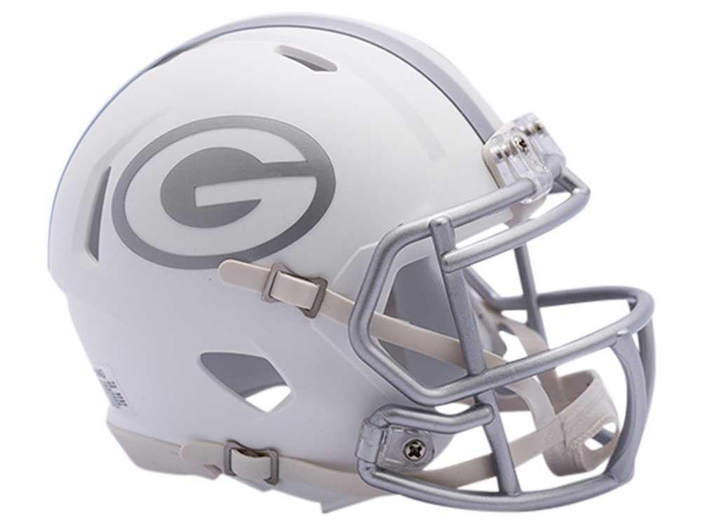 0daf20136c48b Green Bay Packers Speed ICE Alt Mini Helmet