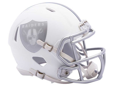 Oakland Raiders Speed ICE Alt Mini Helmet