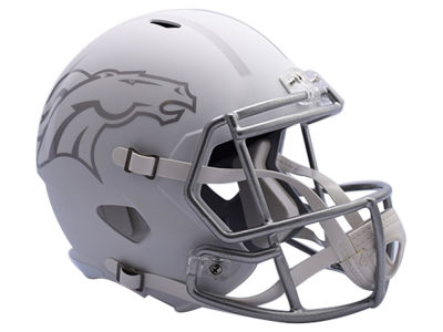 Denver Broncos Speed ICE Alt Replica Helmet