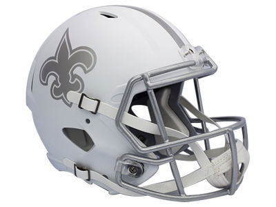 New Orleans Saints Speed ICE Alt Replica Helmet