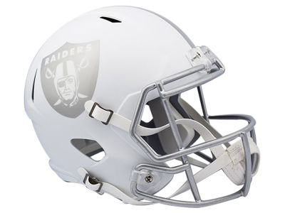 Oakland Raiders Speed ICE Alt Replica Helmet