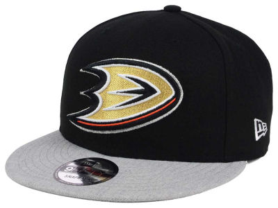 Anaheim Ducks New Era NHL Heather Vize 9FIFTY Snapback Cap