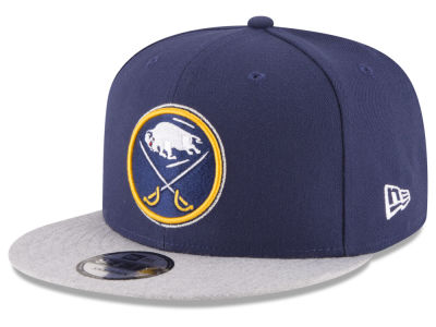 Buffalo Sabres New Era NHL Heather Vize 9FIFTY Snapback Cap