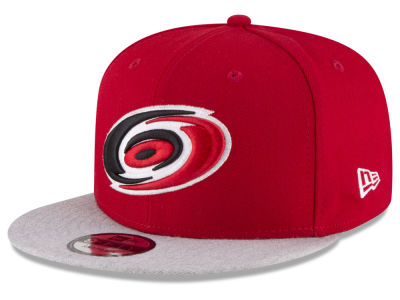 Carolina Hurricanes New Era NHL Heather Vize 9FIFTY Snapback Cap