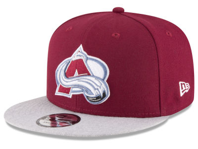 Colorado Avalanche New Era NHL Heather Vize 9FIFTY Snapback Cap
