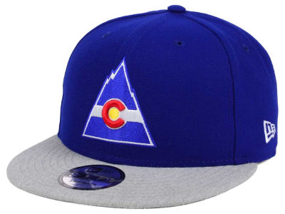 Colorado Rockies New Era NHL Heather Vize 9FIFTY Snapback Cap