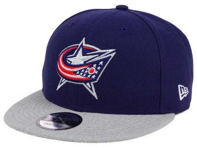 Columbus Blue Jackets New Era NHL Heather Vize 9FIFTY Snapback Cap