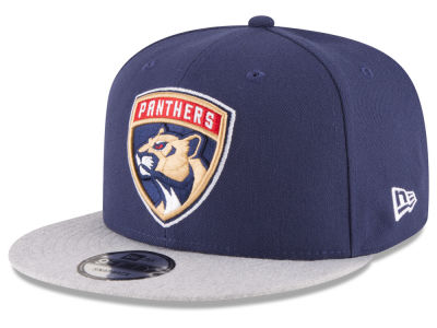 Florida Panthers New Era NHL Heather Vize 9FIFTY Snapback Cap