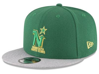 Minnesota North Stars New Era NHL Heather Vize 9FIFTY Snapback Cap