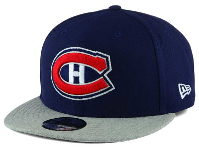 Montreal Canadiens New Era NHL Heather Vize 9FIFTY Snapback Cap