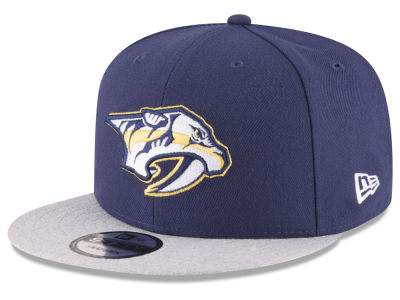 Nashville Predators New Era NHL Heather Vize 9FIFTY Snapback Cap