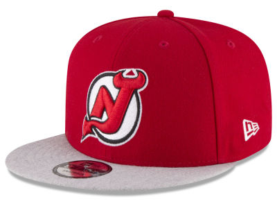 New Jersey Devils New Era NHL Heather Vize 9FIFTY Snapback Cap