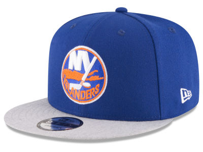 New York Islanders New Era NHL Heather Vize 9FIFTY Snapback Cap